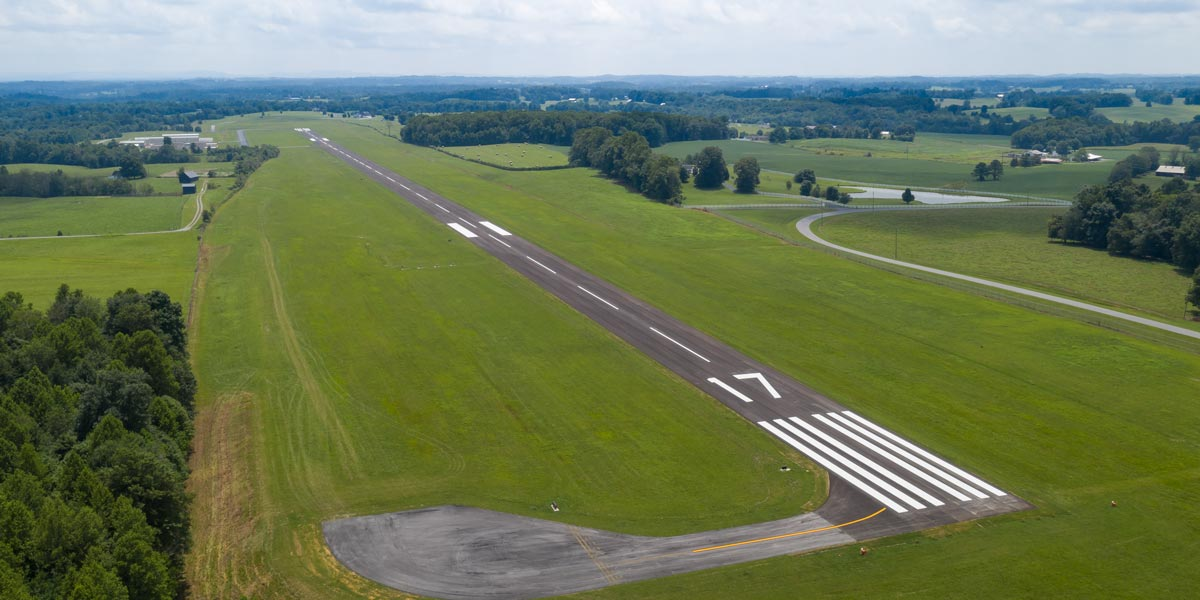 Russell County Airport runway