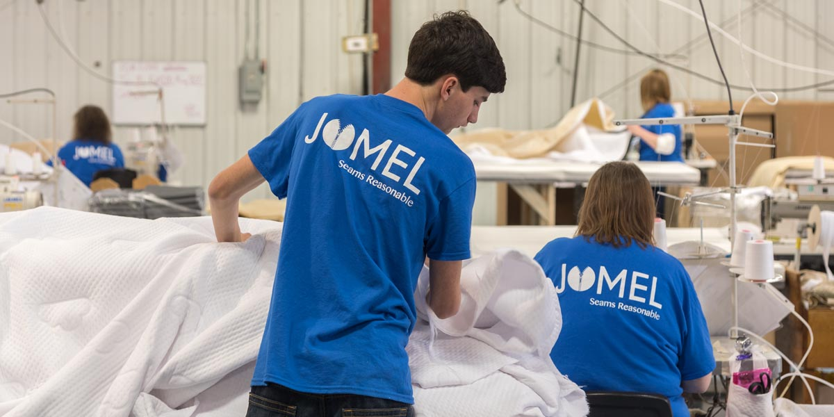 Jomel Seams Reasonable production line.