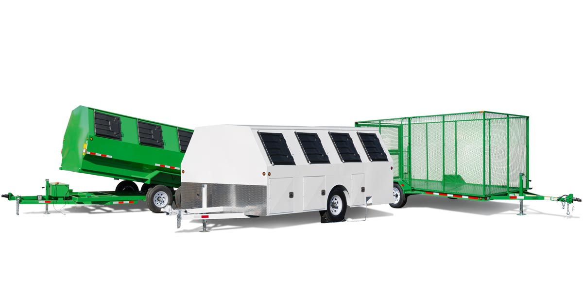 National Recycling Trailers products