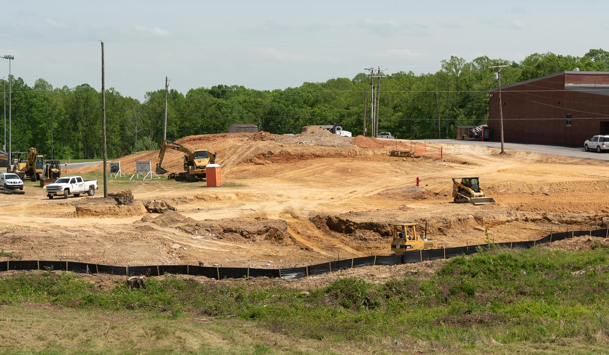 Lake Cumberland Regional College and Workforce Center site grading.