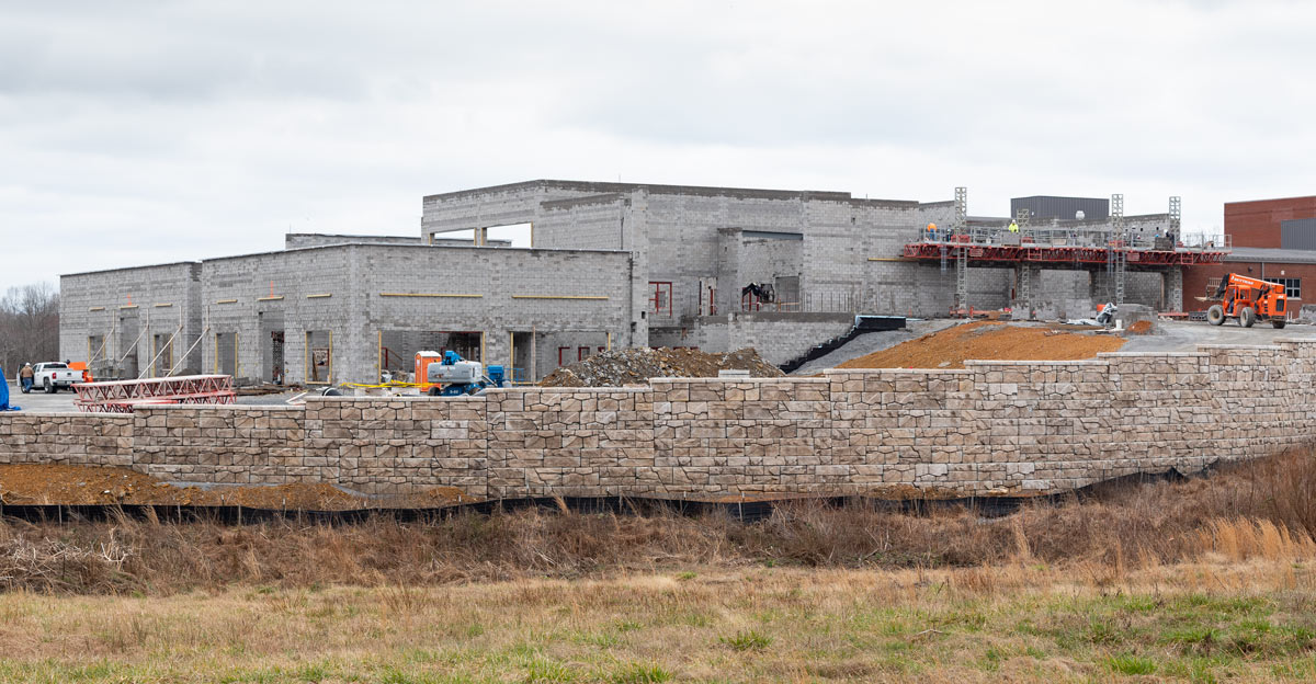 workforce college construction progress February 2020