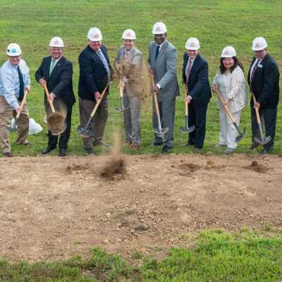 Ground is broken for the Lake Cumberland Regional College & Workforce Center