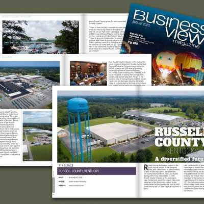 Russell County Features in Business View Magazine