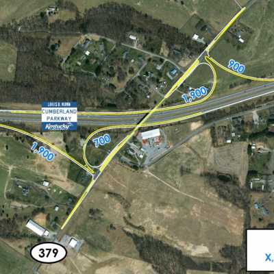 Second Cumberland Expressway Interchange Proposal for Russell Springs